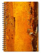 Rust Abstract 2 Spiral Notebook