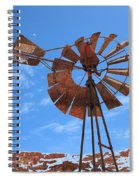 Rust Age Spiral Notebook
