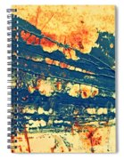 Rust And Lace Spiral Notebook