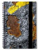 Rust On The Railroad Bridge Spiral Notebook