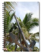 Rusted Anchor Spiral Notebook