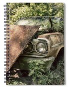 Rusted Beauty Spiral Notebook