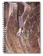 Rusted Blades Spiral Notebook