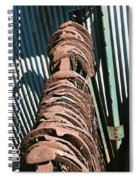 Rusted Horseshoes Spiral Notebook