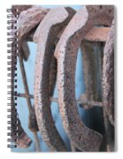 Rusted Shoes Spiral Notebook
