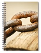 Rusted Strength Spiral Notebook