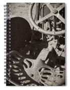 Rusted Tractor Spiral Notebook