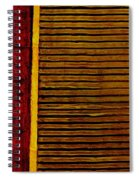Rustic Abstract One Spiral Notebook