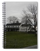 Rustic Amish Farmstead Spiral Notebook