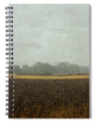 Rustic Barn On A Rainy Day Spiral Notebook
