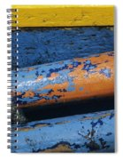 Rustic Boat Spiral Notebook