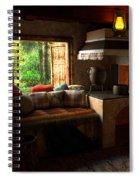 Rustic Cabin Spiral Notebook