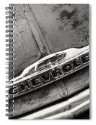 Rustic Chevrolet Spiral Notebook