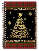Rustic Christmas-jp3697 Spiral Notebook