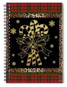 Rustic Christmas-jp3698 Spiral Notebook