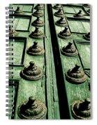 Rustic Church Door Spiral Notebook