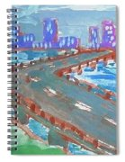 Rustic-city Spiral Notebook