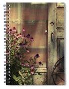 Rustic Corner Spiral Notebook