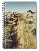 Rustic Country Trails Spiral Notebook