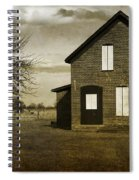 Rustic County Farm House Spiral Notebook