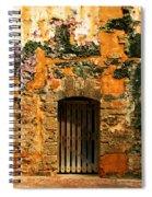 Rustic Fort Door Spiral Notebook