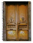 Rustic French Door Spiral Notebook
