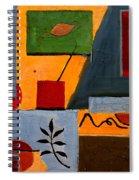 Rustic Garden Spiral Notebook