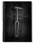 Rustic Hammer In Bw Spiral Notebook