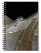 Rustic Horse Saddle Spiral Notebook