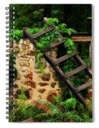 Rustic Ladder Spiral Notebook