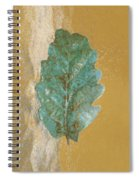 Rustic Leaf Spiral Notebook