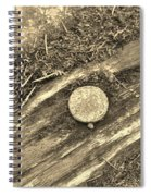 Rustic Nail Spiral Notebook