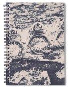 Rustic Nautical Artwork Spiral Notebook