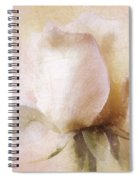 Rustic Rose Spiral Notebook