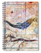 Rustic Seahorse Spiral Notebook