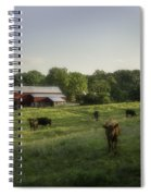 Rustic Serenity  Spiral Notebook