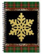 Rustic Snowflake-jp3689 Spiral Notebook