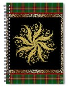 Rustic Snowflake-jp3693 Spiral Notebook