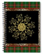 Rustic Snowflake-jp3694 Spiral Notebook
