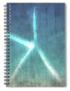 Rustic Starfish Spiral Notebook