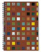 Rustic Wooden Abstract Vll Spiral Notebook