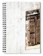 Finestra Rustica Spiral Notebook