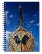 Rusting Boat Spiral Notebook