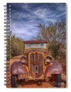 Rusting In Robson's Mining World Spiral Notebook
