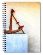 Rusty Anchor Spiral Notebook
