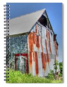 Rusty Barn Spiral Notebook