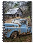 Rusty Blue Dodge Spiral Notebook