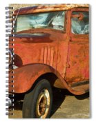 Rusty Chevrolet Pickup Truck 1934 Spiral Notebook