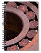Rusty Circles Spiral Notebook