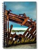 Rusty Forgotten Shipwreck Spiral Notebook